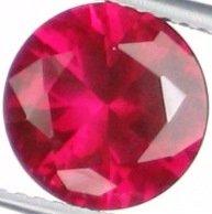 9mm (~3.68ct) Round Brilliant Burma Ruby