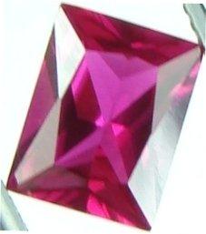 9x7mm (~2.61ct) Scissor Cut Thailand Ruby