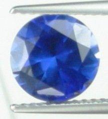 8mm (~2.39ct) Round Brilliant Madagascar Sapphire