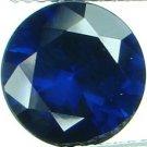 9mm (~3.55ct) Round Brilliant Ceylon Sapphire
