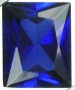 10x8mm (~3.59ct) Scissor Cut Ceylon Sapphire