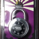 Planet Fitness branded combination dial padlock