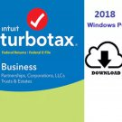 TurboTax Business 2018 for Windows LIMITED  SALE