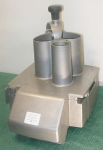ROBOT COUPE Continuous Feed Attachment VERSION D GREAT SHAPE CLEAN