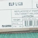 LITHONIA LIGHTING 6 WATT HALOGEN BULB LAMP # 784  6 VOLT LOT approx 30 bulbs