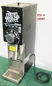 GRINDMASTER 875 COMMERCIAL COFFEE GRINDER Serviced Sanitized Comp w/ Bunn G ser.