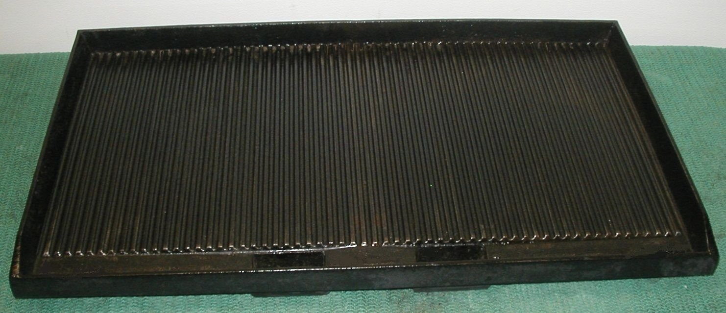 STAR PRO MAX PANINI CG28IT DBL BOTTOM CASTING GROOVED GRILL PART # PS-GR0366