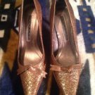 Laundry By Shelli Segal Women's Brown Snakeskin Pumps Shoes SZ 6.5 Beautiful