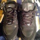 Auth. Men's Nike Air Max LTD Running Shoes Sz 11 Blk/Blk 316376 003 (H 10)