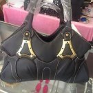 Black Handbag Tote Medium