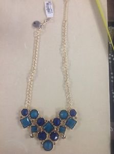 "Macy's Style & Co Collar Necklace Flower Frontal 18"" $34 Ret."