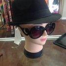 Designer Oversized High Fashion Sunglasses w/ Baroque Swirl Arms Black or Tort