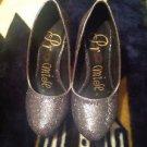 Metallic Gray Promise Pumps Womens Shoes Stilettos Size 5.5