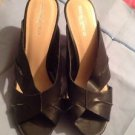 "Mossimo Cork Wedge Heel Sandals 3"" Size 9 Ret. $45"