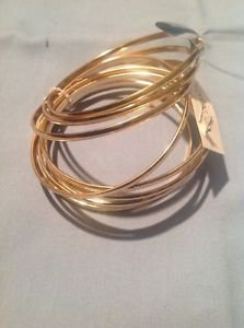 Style & Co. Gold Tone Bangles Bracelets Ret. $24