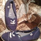 WOMEN'S CONVERSE ONE STAR BLUE WEDGE HEEL FASHION SNEAKERS SIZE 8.5M
