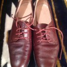 Salvatore Ferragamo Sport Sz 7AAAA Women's Brown Leather Tie Up Oxford Shoes