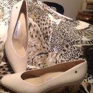 NEW Etienne Aigner Women's Pumps Heels Shoes Cream Ivory SZ 8.5M Beautiful
