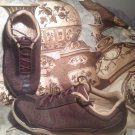 DR. ANDREW WEIL WOMEN'S BALANCE BROWN LEATHER SNEAKERS 7.5M ORTHAHEEL SHOES