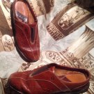 BORN LOAFERS FLATS MOCCASINS SLIDES CLOGS MULES BROWN LEATHER WOMEN'S 7.5/ 38.5