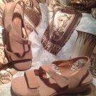 Clarks Women's THEDA Artisan Size 7.5N Shoes SANDALS MUSHROOM NEW MRSP $98