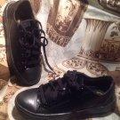 Unisex Kitch Slip-Resistant Work Shoes- Men 5 Women 7W Black Tredsafe SNEAKERS