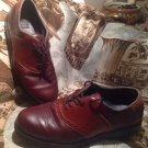 Men's Nunn Bush Two Brown Leather Oxfords SHOES LACE UPS SZ 10M  Style #83910-51
