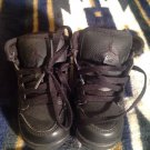 NIKE AIR JORDAN 1 MID BLACK TODDLER BABY SNEAKER SIZE 6 C GOOD LOOKING KICKS