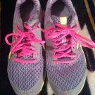 Reebok 023501-813 Women US 7.5M Gray Green Hot Pink Running Shoe X29