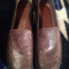 NATURALIZER WOMENS BROWN SHOES SLIP ON LOAFERS SIZE 6.5 M Leather Beautiful