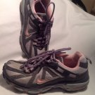 2008 Nike Air Alvord VI Perfect Pink/Metallic Silver Running Shoes! Size 7.5M