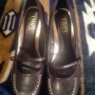 """Chaps """"Mena"""" WOMEN'S Brown Wedge Heels Ralph Lauren  Size 9.5M  MRSP $77"""