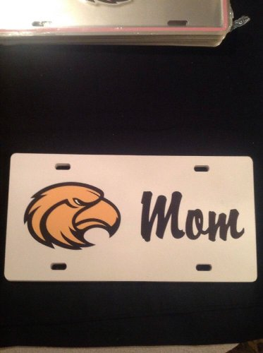 USM GOLDEN EAGLES UNIVERSITY OF SOUTHERN MS. AUTO LICENSE PLATE CAR TAG **MOM**
