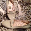 Vintage TAN BEIGE Daniel Green Comfy BEDROOM Slippers Size 9.5M Loafers Slip on
