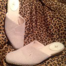 LIFE STRIDE Womens JESS Slide Slip On Sandals Shoes Size 8.5M Wedge MulesTan
