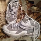 NIKE SOLDIER VIII 8 GS KIDS 6.5Y BASKETBALL SHOES WHITE 653645-100 LEBRON JAMES