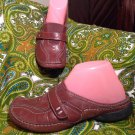 PRIVO BY CLARKS 75799 - BROWN LEATHER 6M SLIP-ON MULE SHOES - WOMEN'S MRSP $89