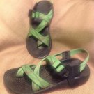 CHACO Z2 CLASSIC TOE LOOP 7M GREEN SANDALS WOMEN'S WATER SPORT SHOES VIBRAM SOLE
