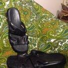 CLARKS WOMEN'S 8.5M BLACK SLIDES SLIP-ONS SANDALS COMFORT SHOES 36665 MRSP $68