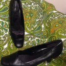 GEORGE COMFORTSTART SHELLY WOMEN'S BLACK PUMPS SQUARE TOE HEELS SHOES SIZE 10M