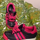 ADIDAS SAMOA SIZE 6M CLASSIC PINK & BLACK SNEAKERS WOMEN'S SHOES PYV702001