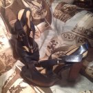 Jessica Simpson Open Toe Platforms Wedges Sandals Casual Women's Shoes Sz 6.5B