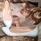 MOSSIMO WOMEN'S MINT GREEN STUDDED BACK PATENT ALL MAN MADE FLATS SZ  8.5M SHOES