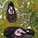 AMERICAN BALLET THEATRE ABT SPOTLIGHT GIRLS BLACK BALLET SLIPPERS* SIZE 12