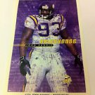 NFL JOHN RANDLE MINI POSTER, 4 X 6 INCHES, FOOTBALL, MINNESOTA VIKINGS, NEW