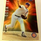 MLB KERRY WOOD MINI POSTER, 4 X 6 INCHES, BASEBALL, CHICAGO CUBS, NEW