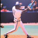 MLB DARNELL COLES AUTOGRAPHED 8X10 PHOTO TORONTO BLUE JAYS, EARLY 1990'S, NR