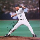 MLB TODD STOTTLEMYER AUTOGRAPHED 8X10 PHOTO TORONTO BLUE JAYS, EARLY 1990'S, NR