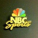 NBC SPORTS TELEVISION LAPEL PIN, CIRCA 1990'S VINTAGE, NEW, NR