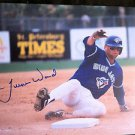 MLB TURNER WARD AUTOGRAPHED 8X10 PHOTO TORONTO BLUE JAYS, EARLY 1990'S, NR